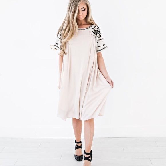 13e25f3ecbba Jessakae Timber Zoe swing dress NWT size M L